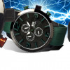 Mos Milan Japan Quartz Movement Silicone Strap Men's Watch – Choice of 5 Colors! for $37.99